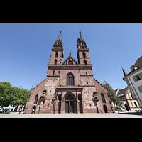 Basel, Münster, Fassade