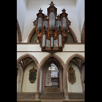 Basel, Peterskirche, Orgelempore