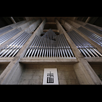 Basel, St. Antonius, Orgelprospekt perspaktivisch