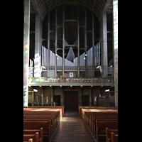 Basel, St. Antonius, Orgelempore