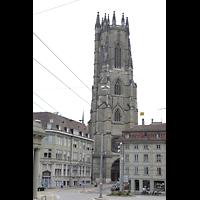 Fribourg (Freiburg), Cathédrale Saint-Nicolas (Hauptorgel), Turm