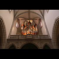 Vevey, Temple Saint-Martin, Orgelempore