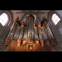 Vevey, Temple Saint-Martin, Orgel perspektivisch