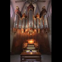 Vevey, Temple Saint-Martin, Orgel mit Spieltisch