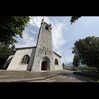 Vevey, Temple Saint-Martin, Turm und Hauptportal