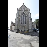 Vevey, Temple Saint-Martin, Chor von außen