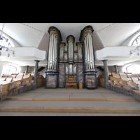Malters, St. Martin (Chororgel), Orgelempore