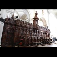 Luzern, Hofkirche St. Leodegar (Große Orgel mit Echowerk), Chorgestühl