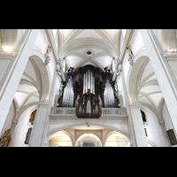 Luzern, Hofkirche St. Leodegar (Große Orgel mit Echowerk), Orgelempore