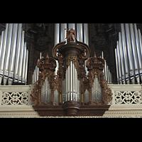 Luzern, Hofkirche St. Leodegar (Große Orgel mit Echowerk), Rückpositiv
