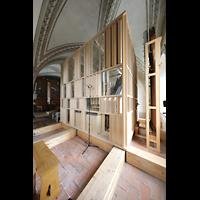 Luzern, Hofkirche St. Leodegar (Große Orgel mit Echowerk), Echowerk mit Windkanälen