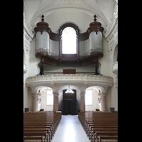 Schwyz, St. Martin, Orgelempore