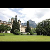 Schwyz, St. Martin, Außenansicht von der Kollegiumsstraße aus