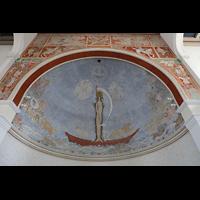 Luzern, CHristkatholische Christuskirche, Gemälde in der Apsis