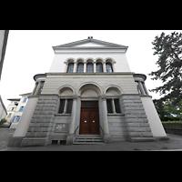 Luzern, CHristkatholische Christuskirche, Fassads