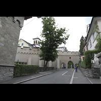 Luzern, CHristkatholische Christuskirche, Außenansicht schräg von der Museggstraße aus