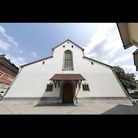 Winterthur, Stadtkirche (Chororgel), Fassade