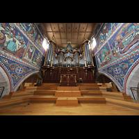 Winterthur, Stadtkirche (Chororgel), Orgelempore