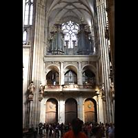 Praha (Prag), Katedrála sv. Víta (St. Veits-Dom), Querhausorgel, Querhausorgel