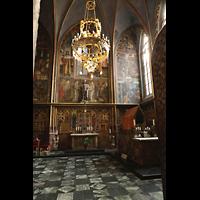 Praha (Prag), Katedrála sv. Víta (St. Veits-Dom), Querhausorgel, St. Wenzelskapelle
