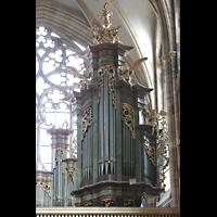 Praha (Prag), Katedrála sv. Víta (St. Veits-Dom), Querhausorgel, Querhausorgel, rechtes Prospektfeld
