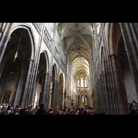 Praha (Prag), Katedrála sv. Víta (St. Veits-Dom), Querhausorgel, Innanraum