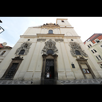 Praha (Prag), Bazilika sv. Jakuba (St. Jakob), Hauptorgel, Fassade