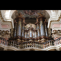 Praha (Prag), Bazilika sv. Jakuba (St. Jakob), Hauptorgel, Orgelempore