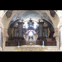 Praha (Prag), Klášter Bazilika Nanebevzetí Panny Marie (Klosterkirche), Hauptorgel, Hauptorgel