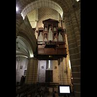 Évora (Evora), Catedral, Orgel neben der Westempore