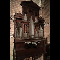 Évora (Evora), Catedral, Orgel von der Westempore aus gesehen