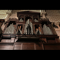 Évora (Evora), Catedral, Orgelprospekt perspektivisch