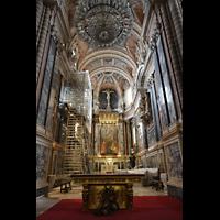 Évora (Evora), Catedral, Chor- und Altarraum