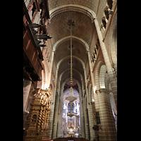 Évora (Evora), Catedral, Hauptschiff in Richtung Chor