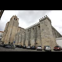 Évora (Evora), Catedral, Ansicht vom Largo de Miguel de Portugal