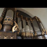 Dresden (Strehlen), Christuskirche, Orgel seitlich