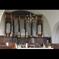 Dresden (Strehlen), Christuskirche, Orgel mit Spieltisch