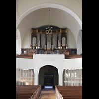 Dresden (Strehlen), Christuskirche, Orgelempore
