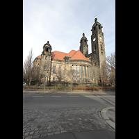 Dresden (Strehlen), Christuskirche, Außenansicht von Süden