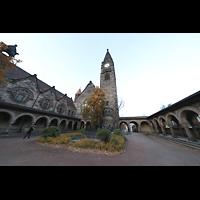 Dresden - Striesen, Versöhnungskirche, Außenansicht von Süden