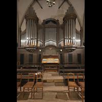 Dresden - Striesen, Versöhnungskirche, Orgel mit Spieltisch