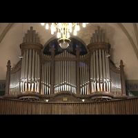 Dresden - Striesen, Versöhnungskirche, Orgelprospekt