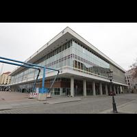 Dresden, Kulturpalast / Philharmonie (Konzertsaal), Außenansicht von Südosten