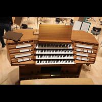 Dresden, Kulturpalast / Philharmonie (Konzertsaal), Spieltisch der Orgel