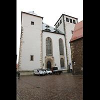 Freiberg (Sachsen), Dom St. Marien (Hauptorgel), Westfassade