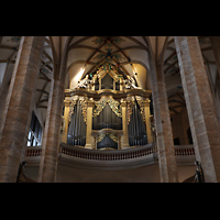 Freiberg (Sachsen), Dom St. Marien (Hauptorgel), Orgelempore