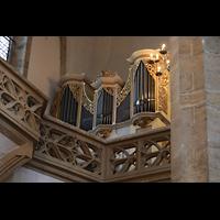 Freiberg (Sachsen), Dom St. Marien (Hauptorgel), Kleine Silbermann-Orgel auf dem Lettner