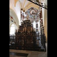 Freiberg, Dom St. Marien (Lettnerorgel), Chorraum und kurfürstliches Grabgelege - Moritzmonument von 1563