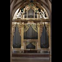 Freiberg, Dom St. Marien (Lettnerorgel), Große Silbermann-Orgel