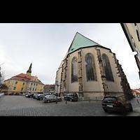 Bautzen, Dom St. Petri (Eule-Orgel im evangelischen Teil), Chor (katholischer Teil des Doms) von außen